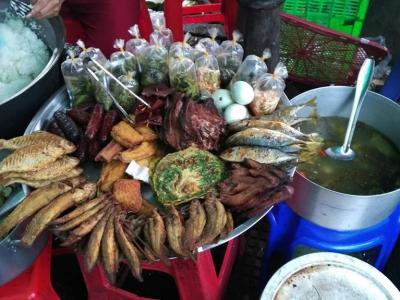 11 janvier marché à Phnom Penh
