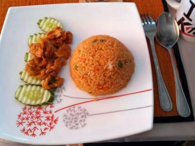 12 janvier repas à Phnom Penh