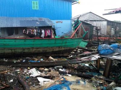 16-janvier : village de pêcheur Kong Preah
