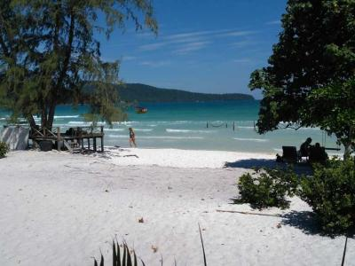 19 janvier : plage Koh Rong Samloem
