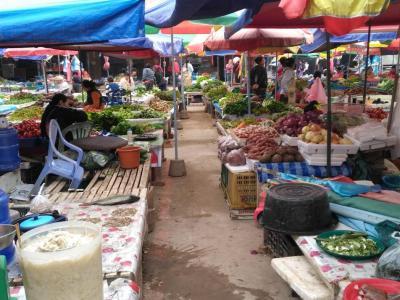 21 février : le marché de Luang Namtha (Laos)