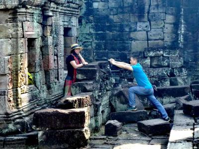 Siem Reap : visite de la ville et des temples d'Angkor, sans touristes…