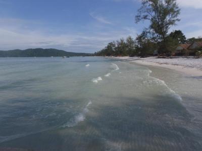 plage de Koh Rong Samloem