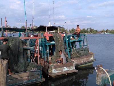 Kampot, village de pêcheur