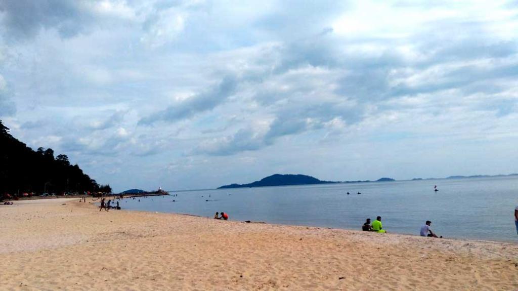 Kep beach dans la région de Kampot