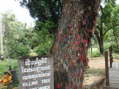 L'arbre au pied duquel les enfants furent massacrés