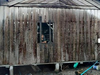 Maison des pêcheurs de Koh Rong