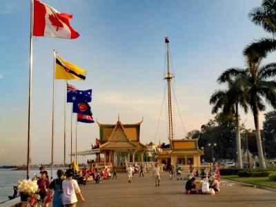 Berges de Pnom Penh