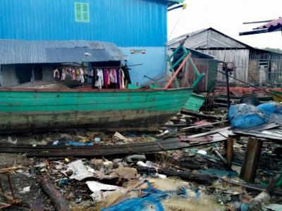 Village de pêcheurs à Koh Rong