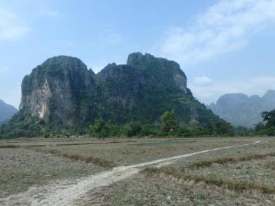 Vang Vieng : montagne