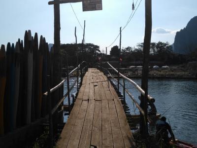 Vang Vieng : petit pont