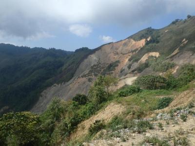 Vang Vieng : vue du sommet de la SIlver Cliff
