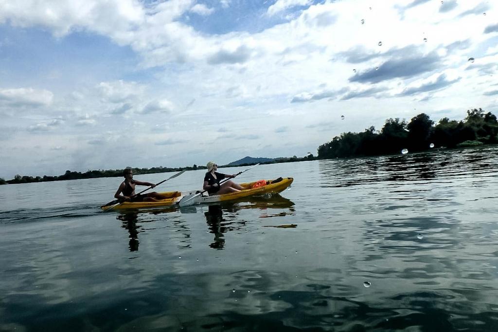 Balade à Kayak sur le Mekong
