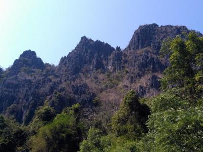 Montagne autours de Konglor