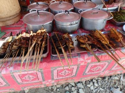 Street food à Lak Sao