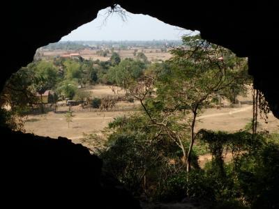 Le buddha de l' Elephant Cave : petite vue