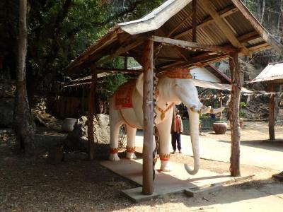 L'éléphant de l'Elephant Cave....