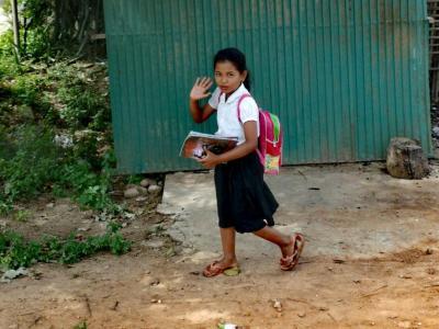 Battambang à vélo : des sourires inoubliables