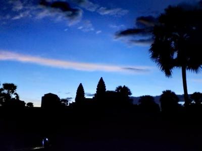 temple d'Angkor Vat à l'aube