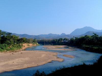 Luang Prabang, un adorable village au Laos et : des cascades… sans eau !