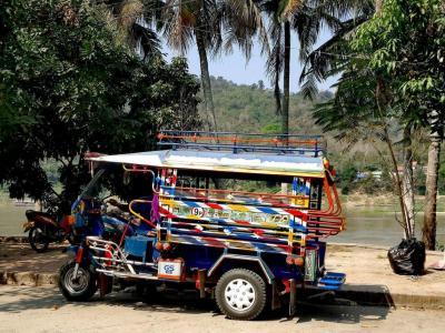 Tuk Tuk à Luang Prabang