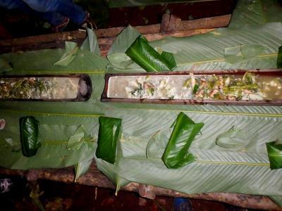 Nos cuillères en feuilles de bananiers