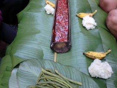 Petit-déjeûner : sticky rice