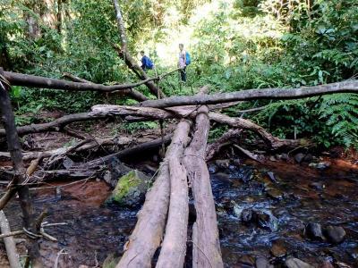 traversée de rivières