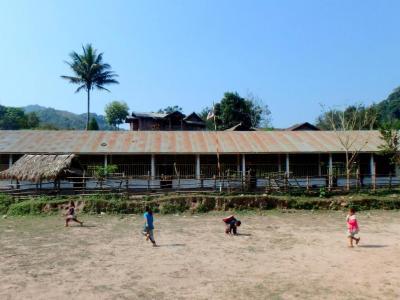 Village Akha : récréation
