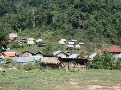 Village Akha au Laos