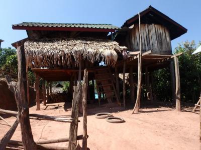 Village Akha : maison