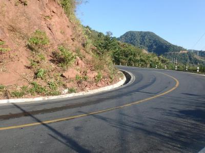 La route d'Oudomxay