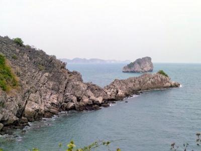 L'île de Catba dans la baie d'Halong
